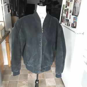 David Taylor Leather coat